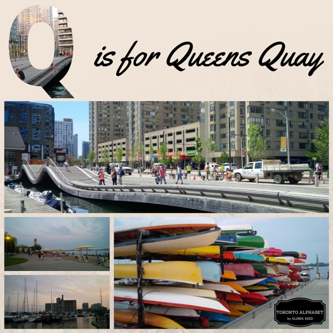Q is for Queens Quay