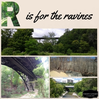 R is for the ravines