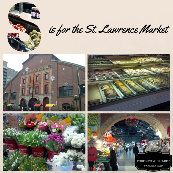 S is for the St. Lawrence Market