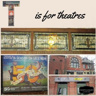 T is for theatres