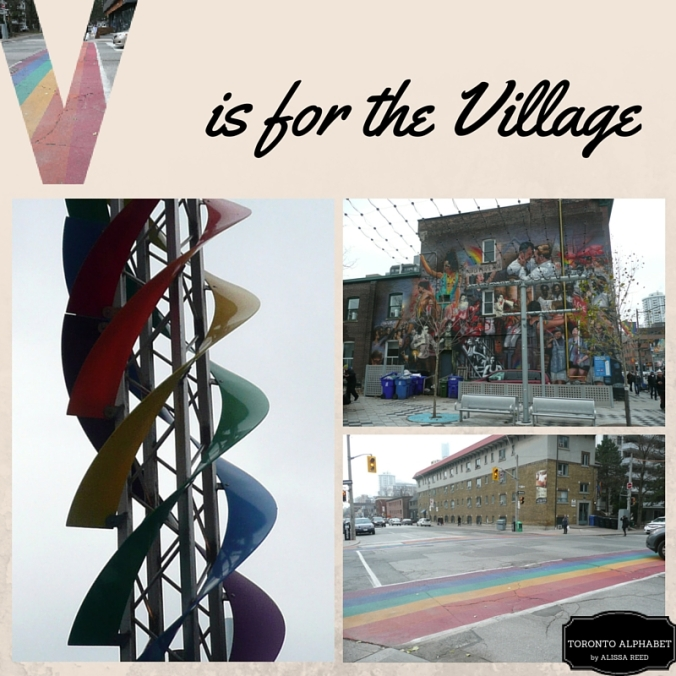 V is the village